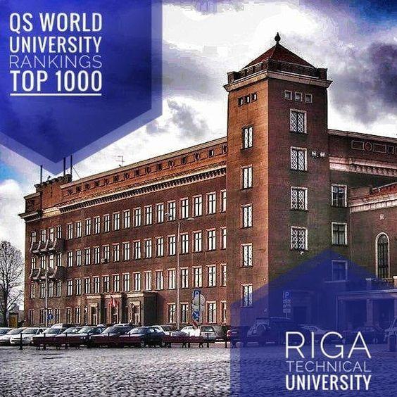 Rtu Dunyo Universitetlar Reytingida Top 1000 Kiradi Riga Technical University Rtu Mam University Rankings World University Technical University