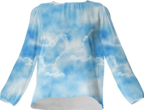 Cloud Silk Top - Available Here: http://printallover.me/collections/sondersky/products/0000000p-cloud-41