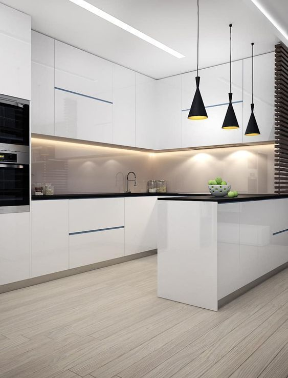 35 Glamorous Modern Kitchen Ideas 2019 You Should Try In 2021 Modern Kitchen Design Luxury Kitchens Luxury Kitchen Design