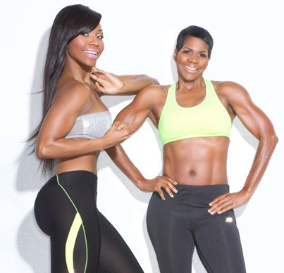 Atlanta Mother/ Daughter Combo: Ellen and Lana Ector prove 'Black Girls Workout Too':