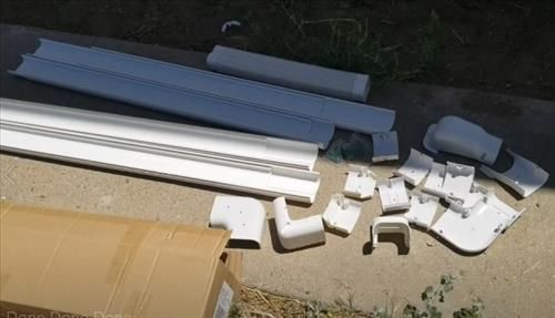 How To Install A Wall Cover Kit For A Mini Split Line Set And Wiring Hvac How To I 2020 Med Bilder