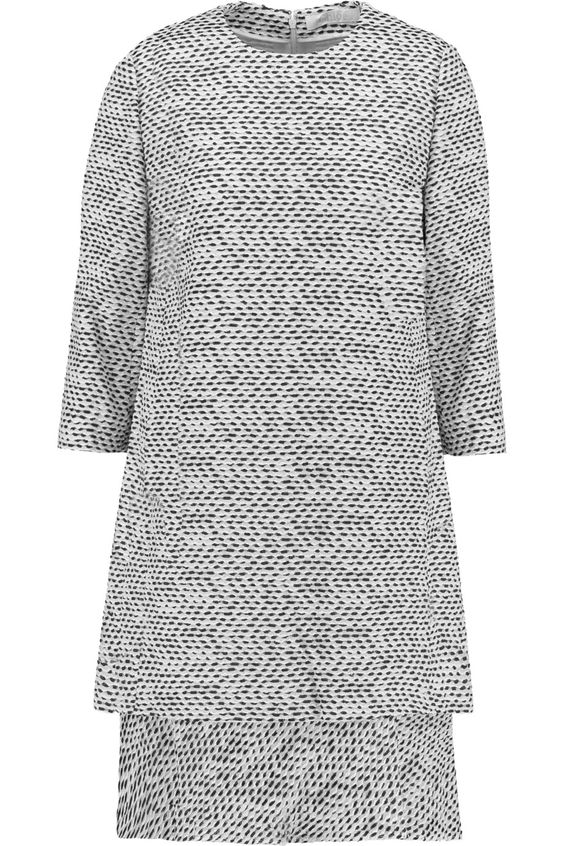 ChloéLayered bouclé dress
