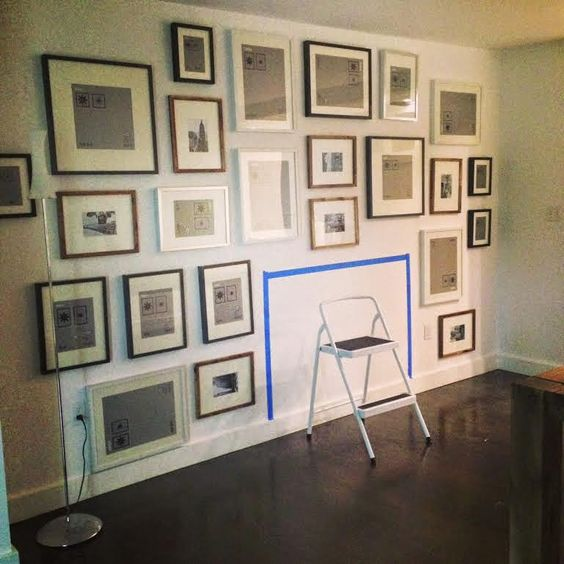 exactly the gallery wall I'm planning | sabbespot
