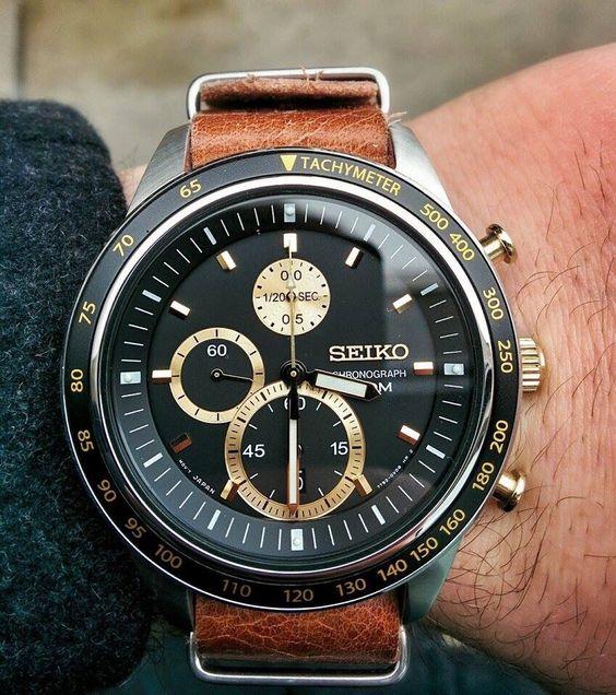 Αποτέλεσμα εικόνας για seiko chronograph nato strap