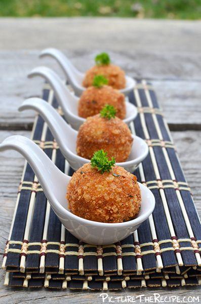 Tuna Potato Croquettes.