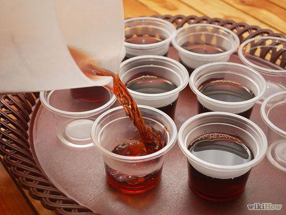 Make Rum and cherry vanilla Coke Jello Shots - wikiHow