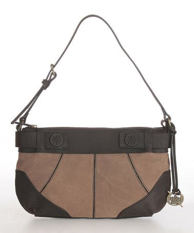 This Whiskey Marden Leather Shoulder Bag is perfect! #zulilyfinds