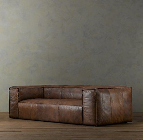 Fulham Leather Sofa 3495 4995 Tailored With Reverse