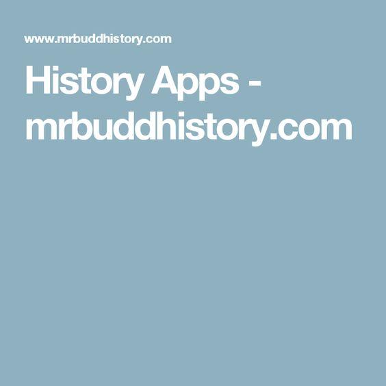 History Apps - mrbuddhistory.com