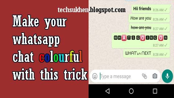 How To Change Whatsapp Font Style In Chat Words To Use Stylish Text Blue Words
