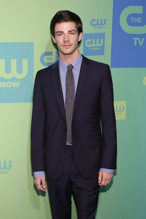 "Pin for Later: 25 Pictures of Grant Gustin That Give New Meaning to the Phrase ""Hot Flash"""