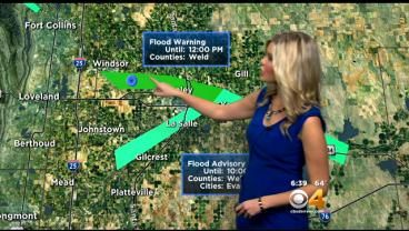 Friday's Forecast: Flash Flood Concerns Are High Today « CBS Denver