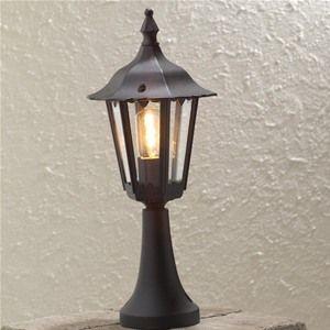 Konstsmide 7220 Forli Garden Aluminium Gate Post Light