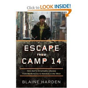 In Escape from Camp 14, acclaimed journalist Blaine Harden tells the story of Shin Dong-hyuk and through the lens of Shin's life unlocks the secrets of the world's most repressive totalitarian state. Shin knew nothing of civilized existence-he saw his mother as a competitor for food, guards raised him to be a snitch, and he witnessed the execution of his own family.