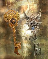 Time Equinox Key Necklaces by *KeypersCove on deviantART