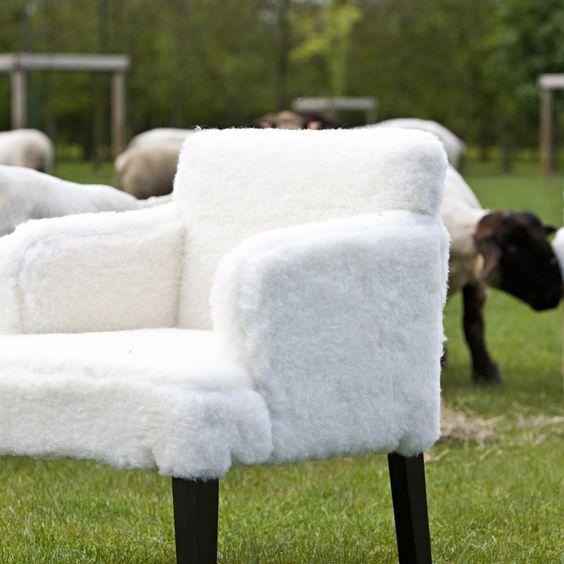 Fauteuil yeti fourrure effet mouton am pm id es d co - La redoute meubles ampm ...