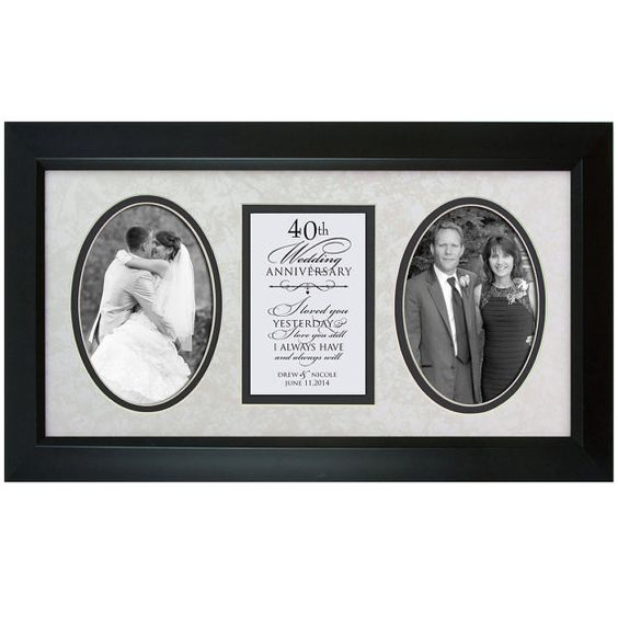 40th Wedding Anniversary Gift Ideas For Parents Nz : 40th anniversary gifts, 40th anniversary and Anniversary gifts on ...