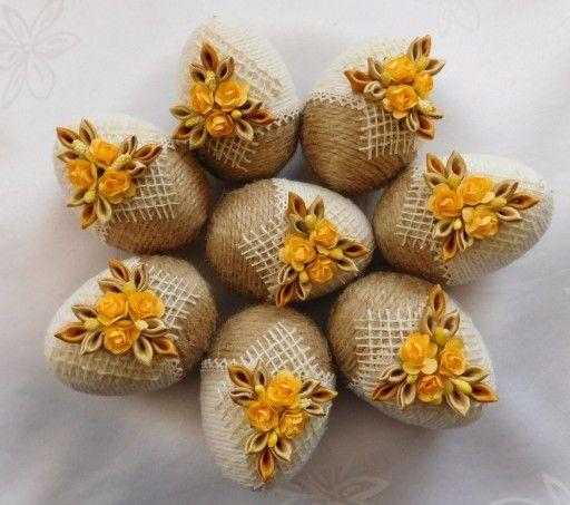 Pisanka Do Koszyczka Ozdoby Wielkanocne Rekodzielo 7830347517 Allegro Pl Easter Crafts Coconut Decoration Easter Crochet