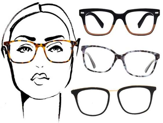 Best Eyeglass Frame For Oblong Face : Pinterest The world s catalog of ideas