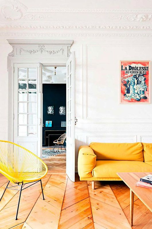 colorful paris penthouse designed by Fusion D / sfgirlbybay: