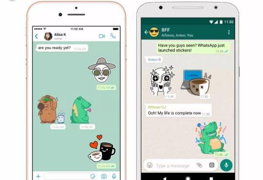تحميل ملصقات واتس اب للايفون جاهزة لتحميل Stickers Phone Gadgets Samsung Sticker App