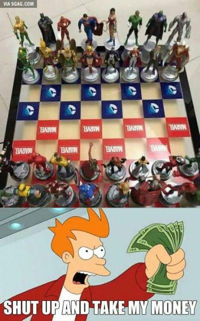 A quien le gustaría tener este ajedrez? >>> Detalles...