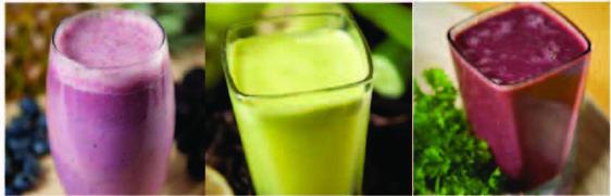 Cure de jus de légumes de trois jours