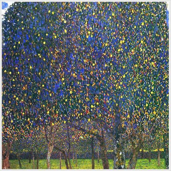 Gustav Klimt「Pear Tree」(1903)