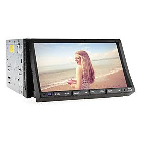 7 Inch 2din Car Dvd Player Support 3g(wcdma), Gps, Tv, Rds, Bluetooth, Ipod