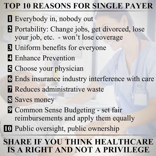Top Ten Reasons For Single Payer Changing Jobs Universal Life