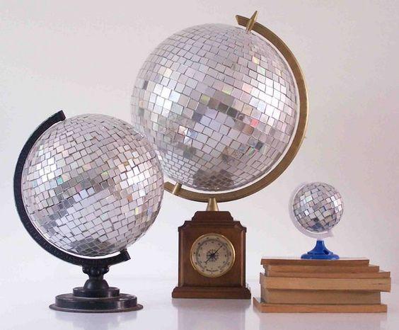 disco globes... awesome!!