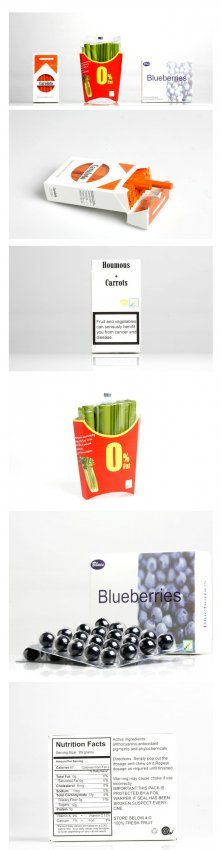Interesting Art: Can packaging encourage healthy eating?