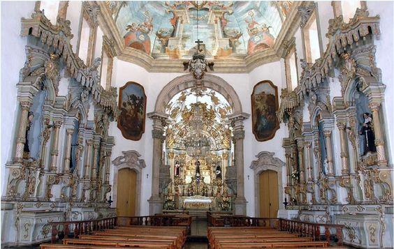 Interior da Igreja São Francisco de Assis, Ouro Preto.
