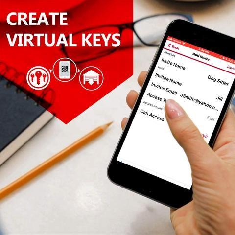 Is A Wifi Garage Door Opener Necessary Smart Garage Door Opener Garage Door Opener Garage Doors