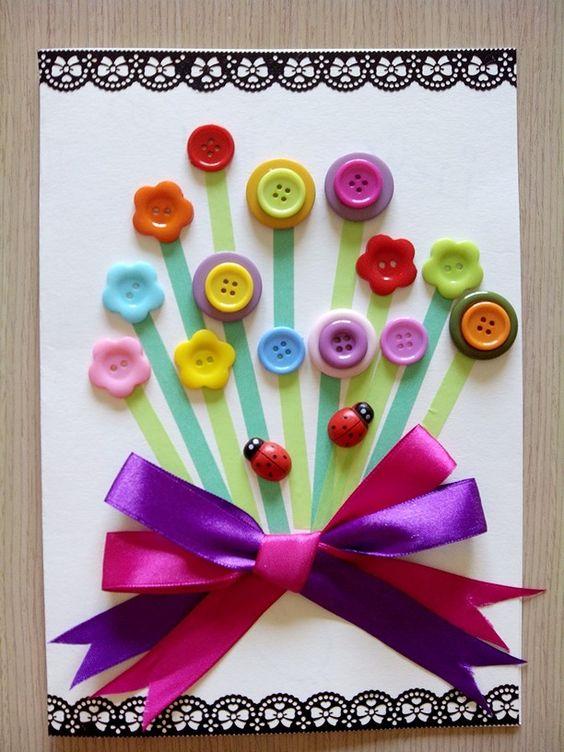 Tarjeta de cumplea os para yoli bellezas de papel - Manualidades para regalar en cumpleanos ...
