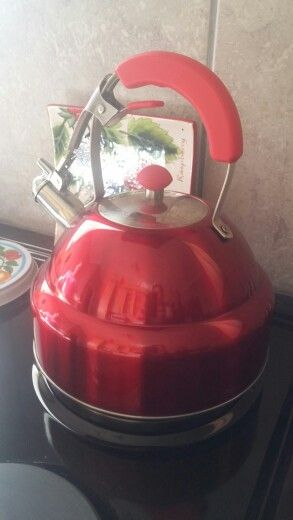Mom's red kettle