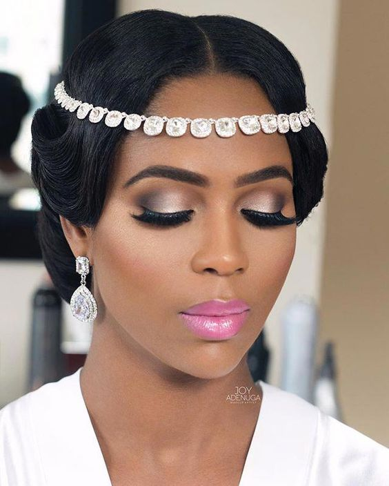 Makeup by @joyadenuga on Carinna my beautiful Jamaican bride  Hair by @charishair  Wedding planner - @premillients  Details on how I achieved her look is up on my bridal blog  Bridesbyjoy.com Link on my bio page   #Londonmua #JoyAdenuga #Jamaicanbride #Beautifulbride #CarZo2016