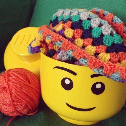 Crochet for brains! #lego #crochet #crafts #knittersofinstagram #knitter #penelopeteapot http://ift.tt/1He7P8q