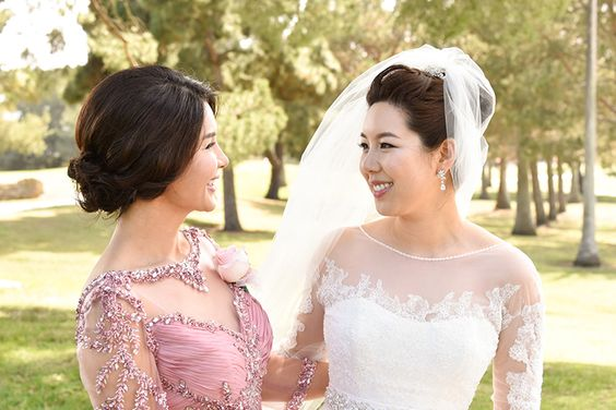 classic wedding makeup + hair by | mieko ... photos by | will chiang (www.willchiang.com) #kellyzhang #kellyzhangstudio #makeup #hair #clean #polished #classic #married #wedding #bride #bridal #updo