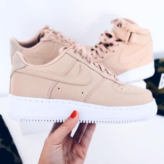 Nike Air Force Rosegold