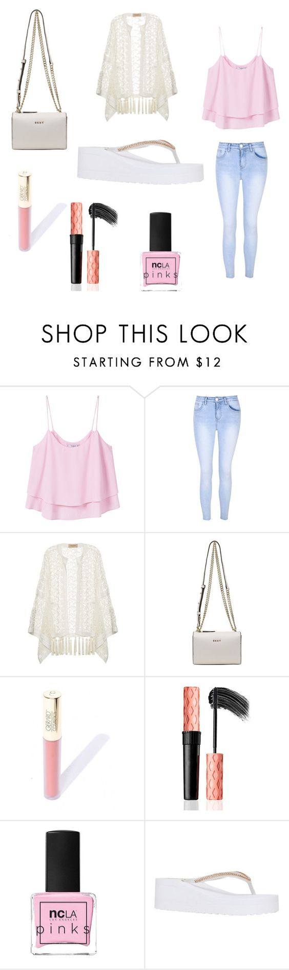 """Backyard BBQ Look"" by stylistthinkbig ❤ liked on Polyvore featuring MANGO, Glamorous, ADRIANA DEGREAS, DKNY, ncLA and Miss KG"