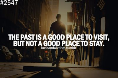 The Past Is A Good Place To Visit