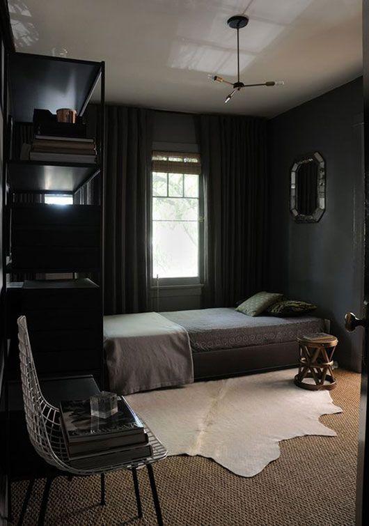 stylist bedroom designs for guys. 10 black painted walls to inspire you Black bedrooms Bedrooms and  Decoration Stylist Bedroom Designs For Guys Home Design Plan
