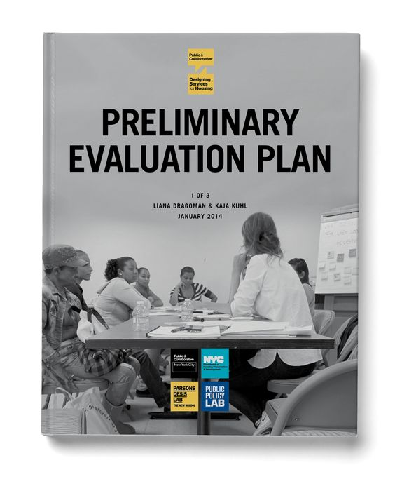 PPL Publication Designing Services for Housing Preliminary - evaluation plan