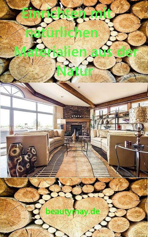 Holz, Bambus oder Baumwolle sind nur einige Materialien aus der Natur, mit denen wir die eigenen vier Wände nach unseren Vorstellungen... Einrichten mit natürlichen Materialien aus der Natur