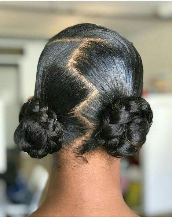 2020 2021 Black Hair Bridal Natural Hairstyles For African Women In 2020 Natural Hair Bun Styles Natural Hair Styles Easy Natural Hair Styles