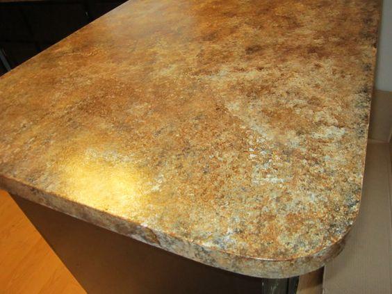countertop makeover brown granite countertops paint countertops ...