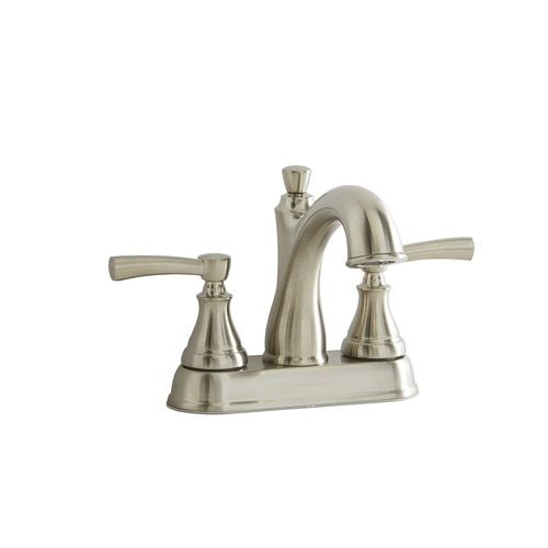 Giagnimitchell Brushed Nickel 2 Handle 4 In Centerset Watersense