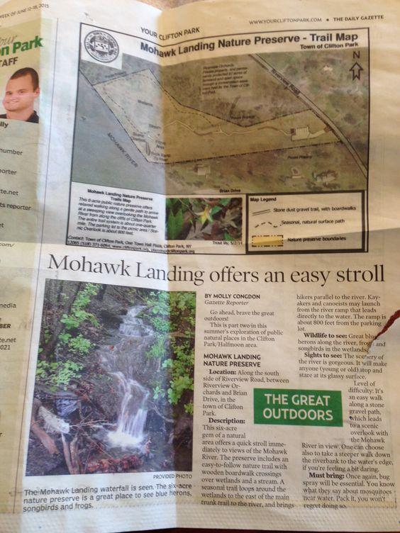 Mohawk landing nature preserve