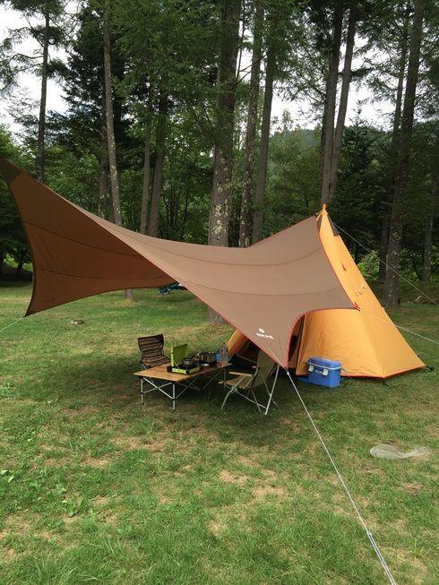 初張り ノースイーグル ワンポールテント300 テント キャンプ アウトドア